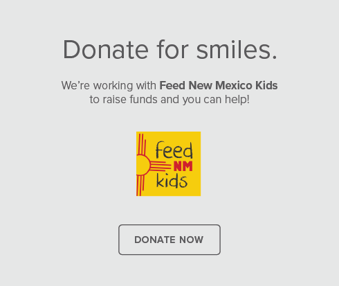 Cottonwood Smiles Dentistry - Donate for smiles.